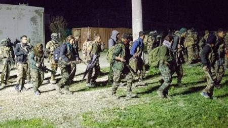 ABD Rakka'ya asker indirdi! İşte ilk görüntüler…