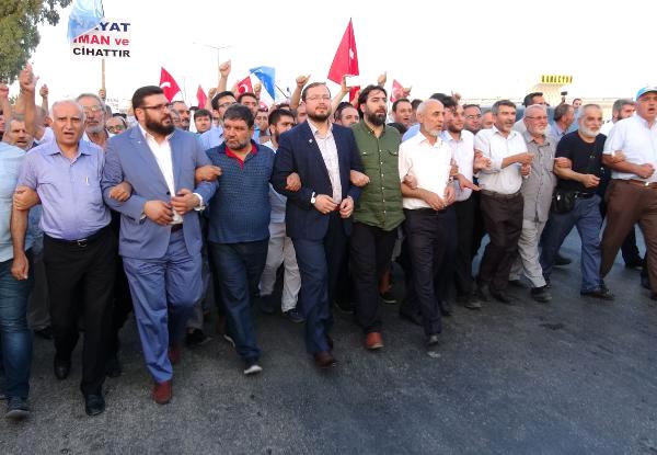 Anadolu Gençlik Derneği, İncirlik'e Yürüdü