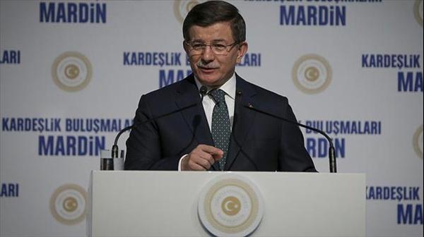 Başbakan Davutoğlu Mardin'de eylem planını açıkladı.