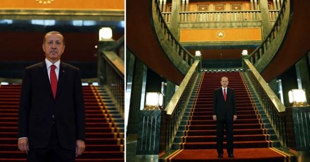 Erdoğanın yeni sarayı