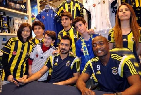 Kayseride Fenerbahçe izdihamı