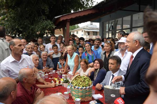 Kılıçdaroğlu, Düzce'de İşadamları ve Esnafla Bir Araya Geldi (2) /fotoğraflar