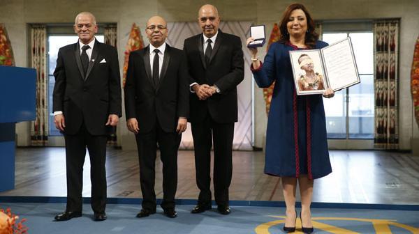 Nobel Barış Ödülü sahipleri ödüllerini aldılar