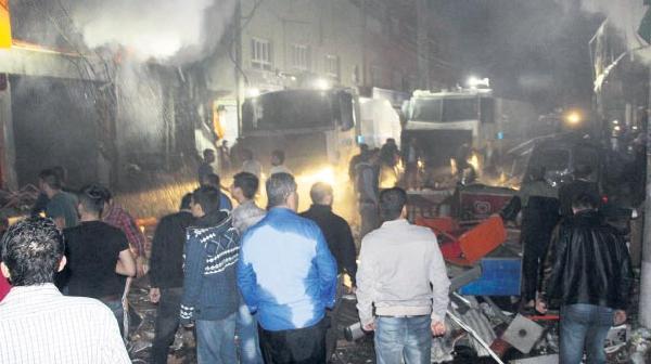 Nusaybin'de patlama: 1 ölü, 20 yaralı