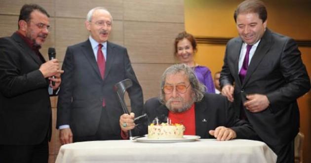 Ünlü ressamın doğum gününü kutladı